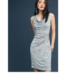 Moulinette Soeurs Riley Blue Sheath Dress NWT